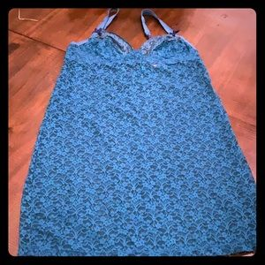 Teal nightgown